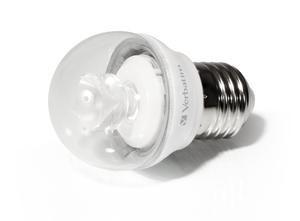 Verbatim LED Mini Globe klar E27, 2700K