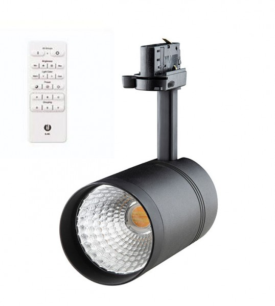 Play Smart LED Srahler 11 Watt, schwarz Abb. mit Fernbedienung