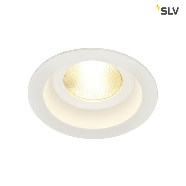 Contone LED, starr, rund, weiss