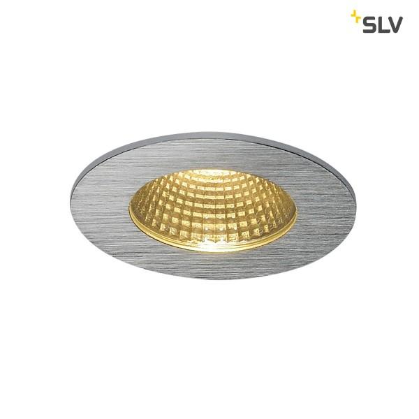 Patta-I LED, rund,alu