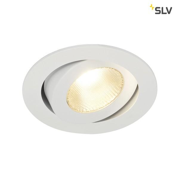 Contone LED, schwenkbar, weiss