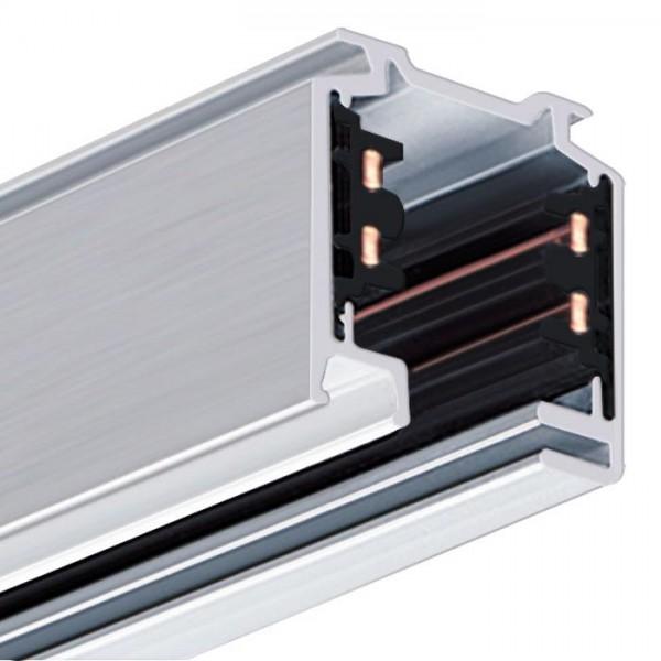 Eutrac 3-Phasen Aufbau Stromschiene, weiß