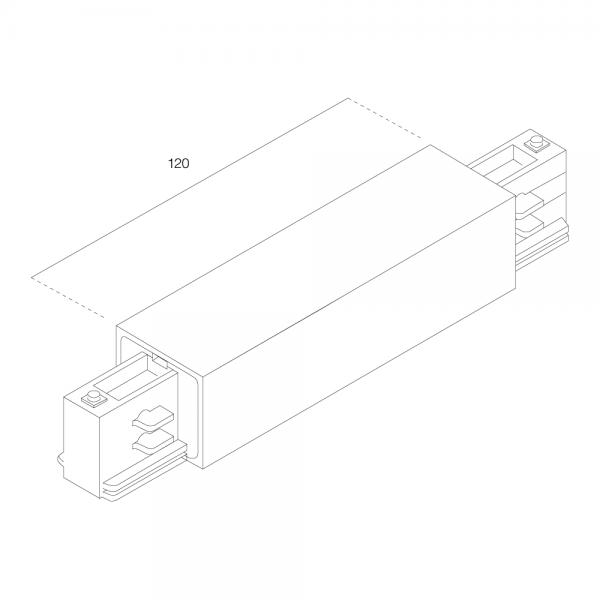 RZB Zwischeneinspeisung für 3-Ph-Stromschienen
