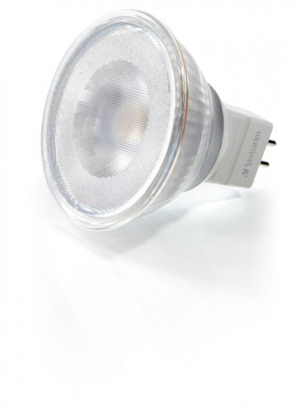Verbatim LED, MR16, GU5,3, 3000K, 3,7W