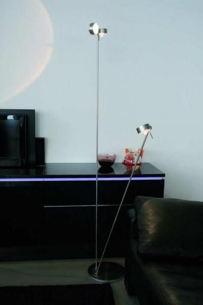 Puk Floor Mother-Kid LED, chrom matt