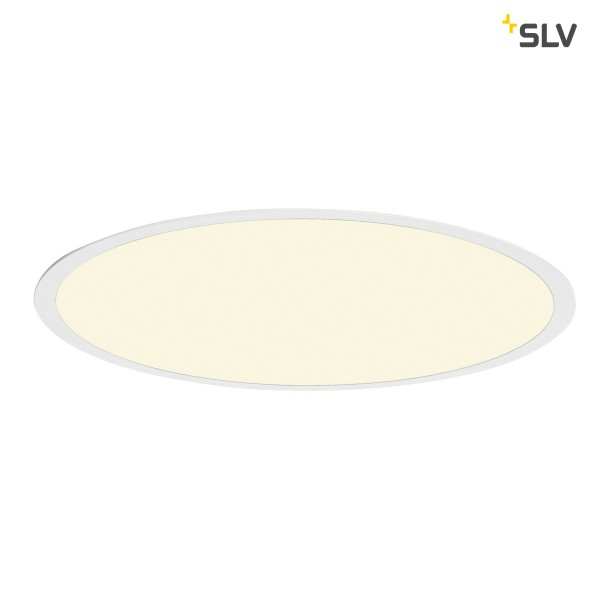 LED Panel Round, weiss