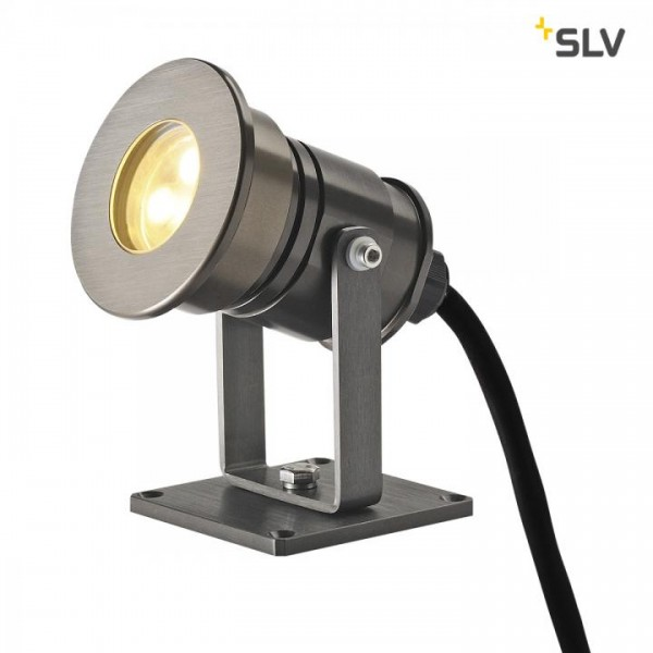 Dasar Projector LED Leuchte, alu eloxiert