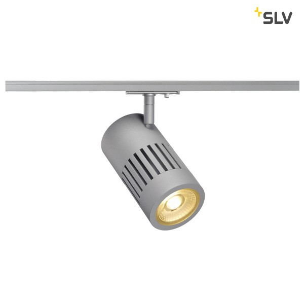 Structec LED 1-Phasen,silber