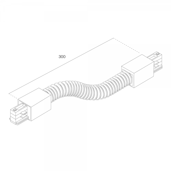 LTS Standard 3-PH Anbau Flexverbinder AL 7658-10