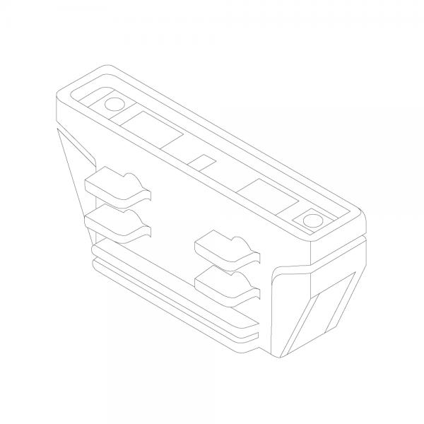 LTS Standard 3-PH Anbau elektrischer Längsverbinder innenliegend AL 7604