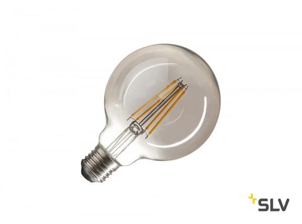 LED G95/G125 E27, rauchglas