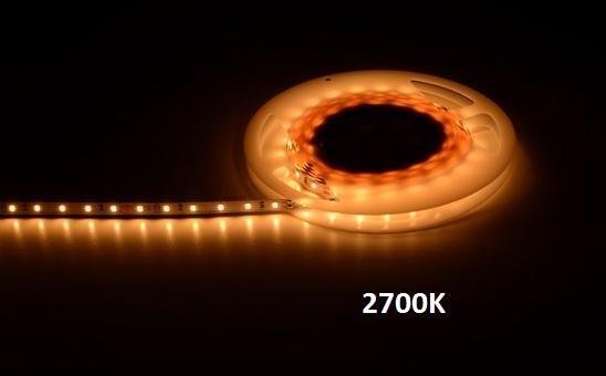 Extro LED Strip, 5m, 14,4W, 120LED´s, 2700K