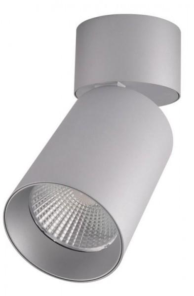 Vide Aufbau LED dreh/schwenkbar, 20W, grau