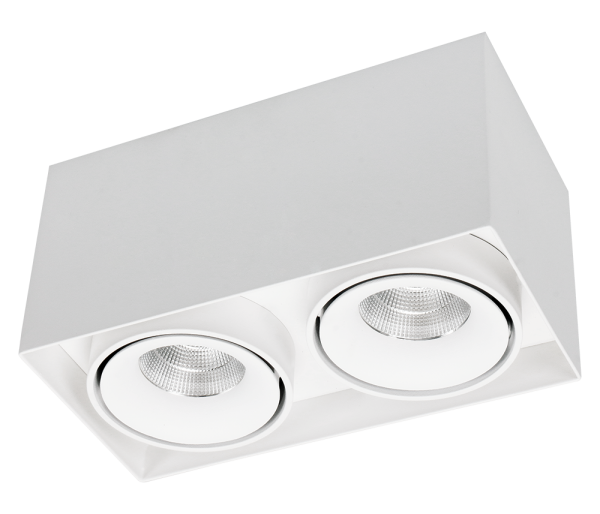 Caja Aufbau LED, dreh/schwenkbar 1er, Bild 2