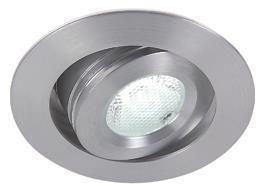 Globo Leuchte schwenkbar aluminium