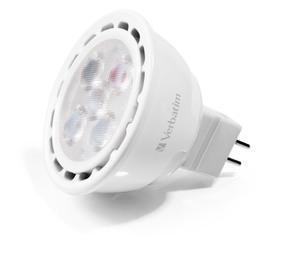 Verbatim MR16 LED, GU5,3, 2700K