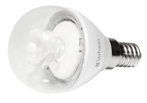 Verbatim Mini Globe LED, E14, 2700K