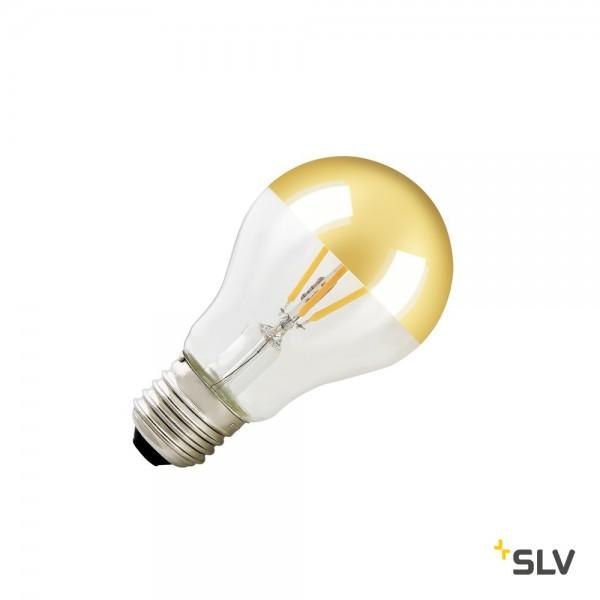 LED A60 E27 Mirrorhead, gold, 7W