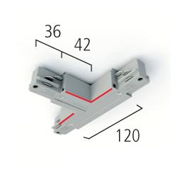 Eutrac 3-Phasen BUS T-Verbinder