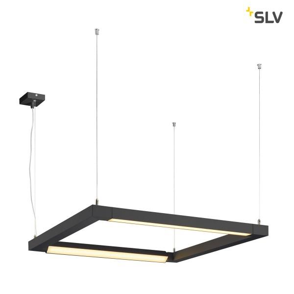 Open Grill double twist LED,schwarz