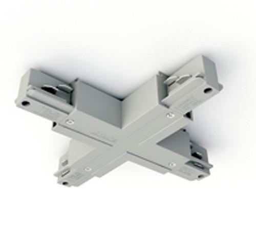Eutrac 3-Phasen Aufbauschiene X-Verbinder