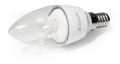 Verbatim LED Candle klar E14 4,5W nicht dimmbar
