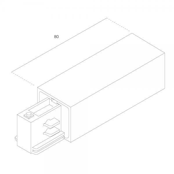 LTS Standard 3-PH Anbau Einspeiser AL 7652