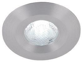 Globo fixed 1-led, aluminium, 3200K