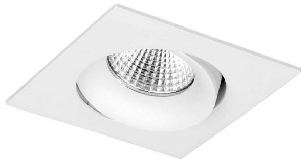 Bex LED viereckig schwenkbar 8Watt, weiß