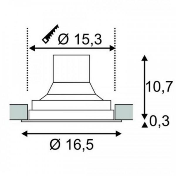 Supros LED, 16,5cm