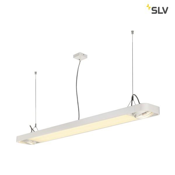Aixlight R2 office LED, 153cm,weiss