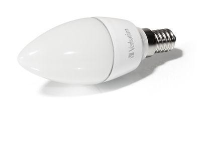 Verbatim LED Candle matt E14 4,5 W