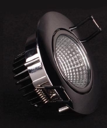 Focus LED rund schwenkbar 8,4Watt, weiß