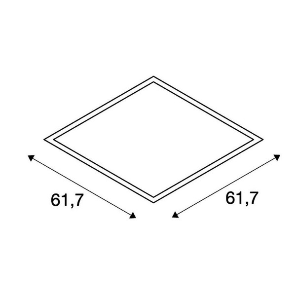 I-Vidual LED Panel, 61,7cm,