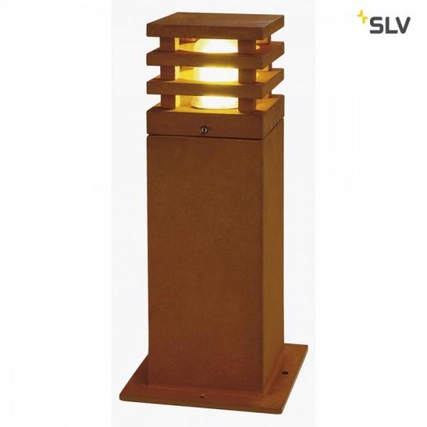 Rusty square LED 40cm Leuchte, Bild 1