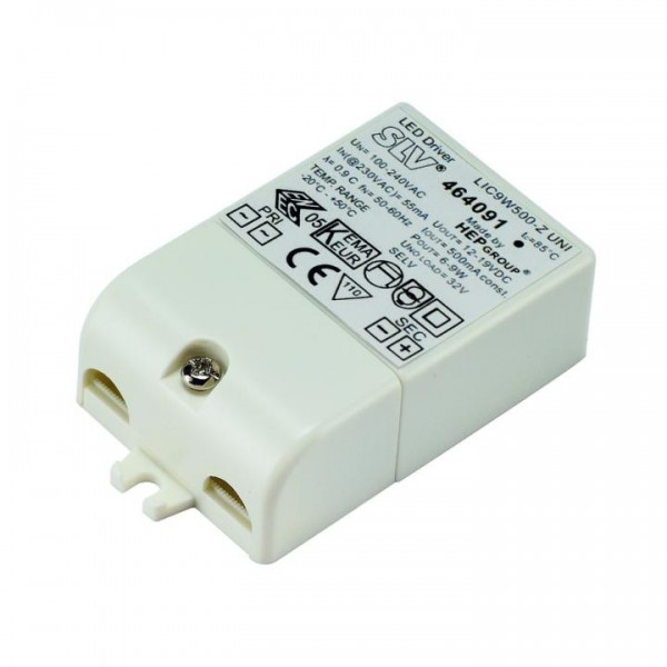 LED-Treiber, 9VA, 500mA, inkl. Zugentlastung